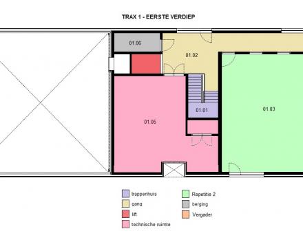 TRAX 1 - Eerste verdieping