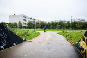 Fietspaden bij TRAX
